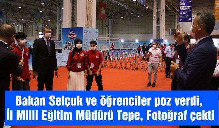 Milli Eğitim Bakanı Ziya Selçuk, TEKNOFEST 2020 için Gaziantep'e geldi.