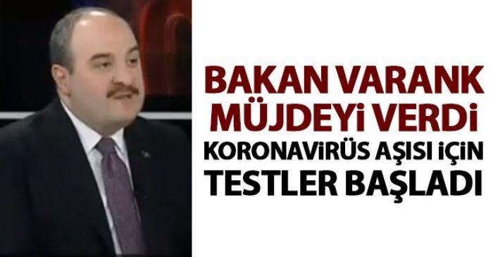 Bakan Mustafa Varank'tan Kovid-19 aşısı açıklaması