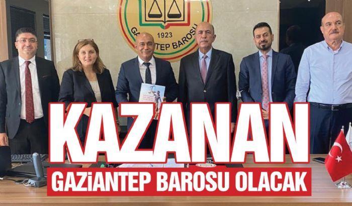 KAZANAN GAZİANTEP BAROSU OLACAK