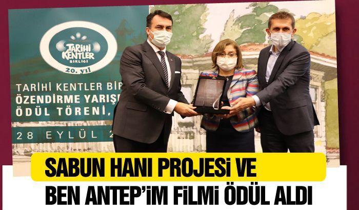 SABUN HANI PROJESİ VE BEN ANTEP'İM FİLMİ ÖDÜL ALDI