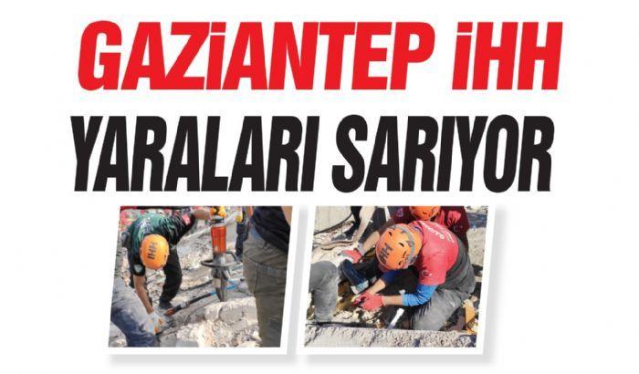 Gaziantep İHH İzmir'de yaraları sarıyor
