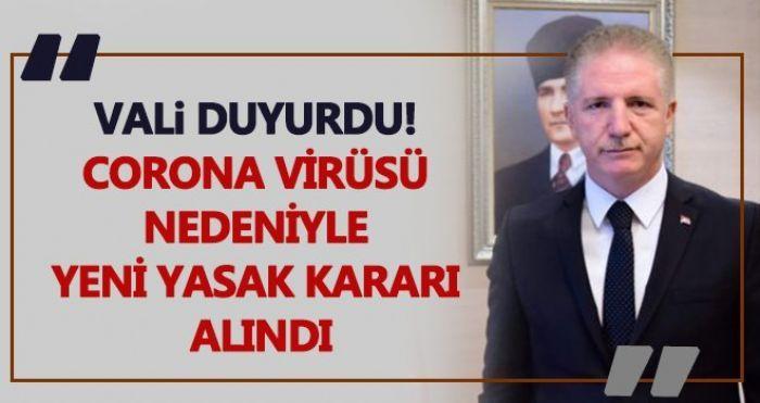 Son dakika... Gaziantep'te yeni koronavirüs yasakları...