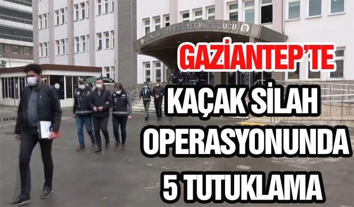 Kaçak silah operasyonunda 5 tutuklama ...