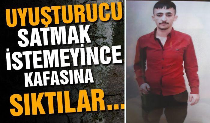 Gaziantep'te Uyuşturucu satmak istemeyince gencin kafasına sıktılar...