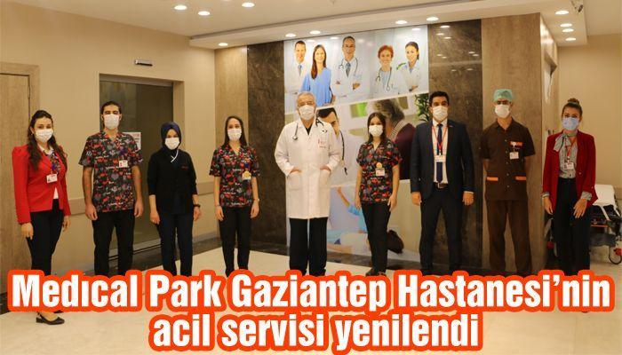 Medıcal Park Gaziantep Hastanesi'nin acil servisi yenilendi