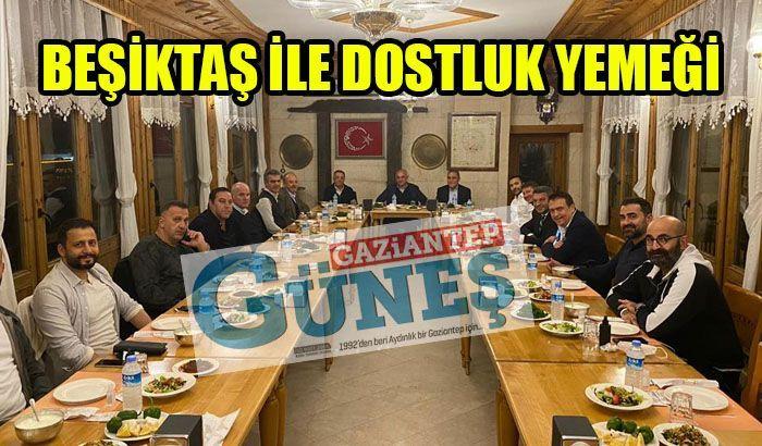 Beşiktaş ile dostluk yemeği