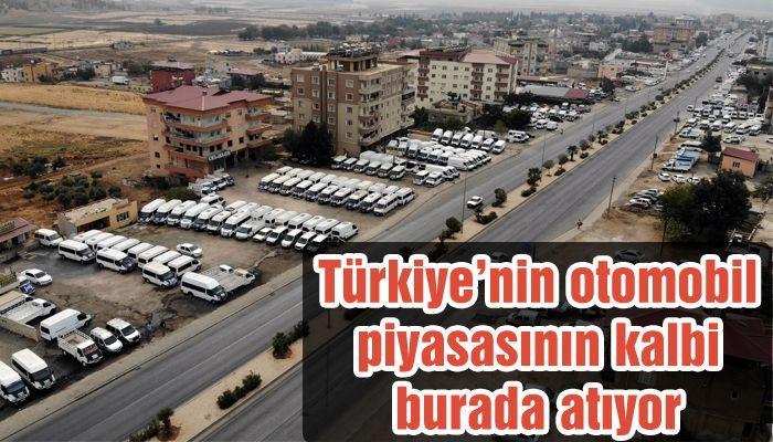Türkiye'nin otomobil piyasasının kalbi burada atıyor...