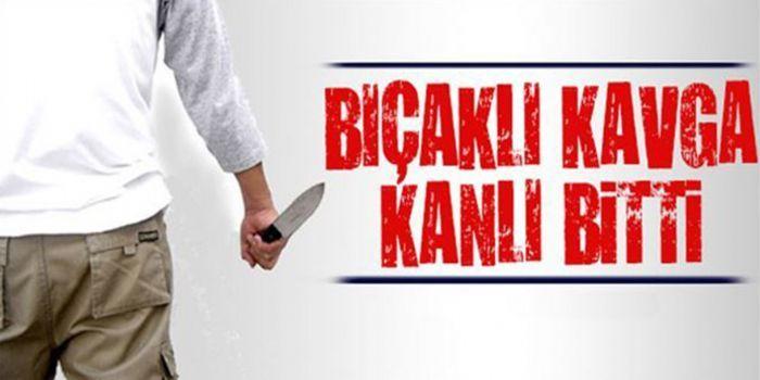 Gaziantep'te çıkan bıçaklı kavgada 1 kişi hayatını kaybetti.