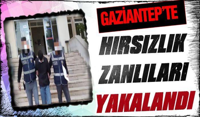 Gaziantep'te hırsızlık zanlıları yakalandı