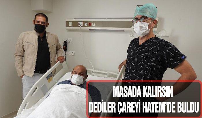 MASADA KALIRSIN DEDİLER ÇAREYİ HATEM'DE BULDU