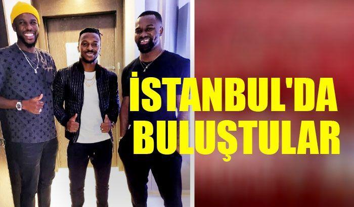İstanbul'da buluştular