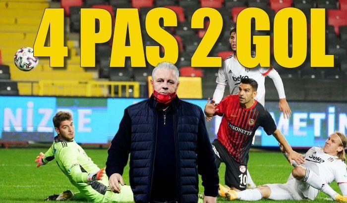 4 pas 2 gol
