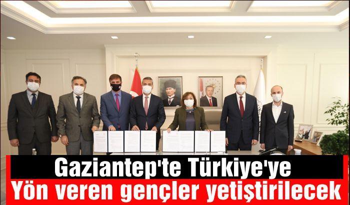 Gaziantep'te Türkiye'ye yön veren gençler yetiştirilecek