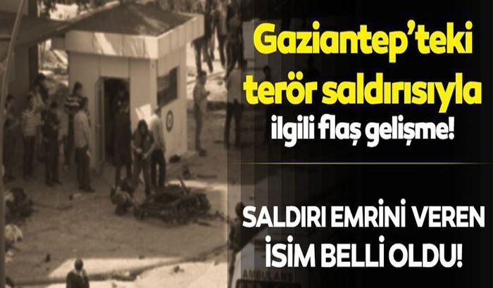 Gaziantep'te 5 yıl önce polis merkezine düzenlenen saldırıya ilişkin flaş gelişme...
