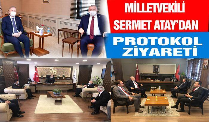 MHP'den protokol ziyareti