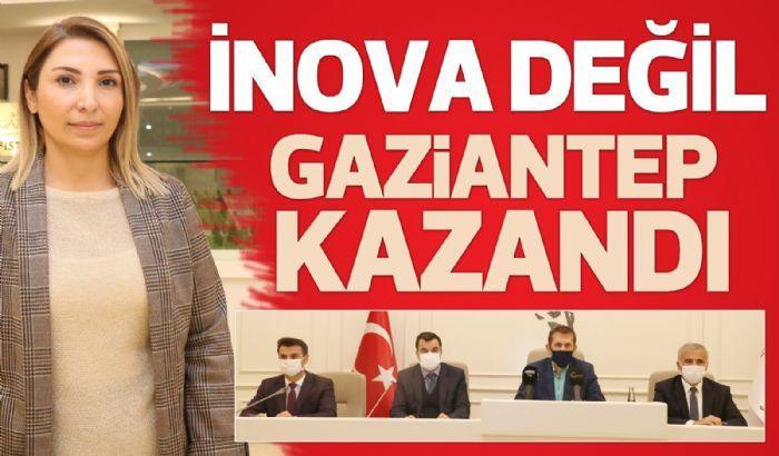 İNOVA DEĞİL, GAZİANTEP KAZANDI