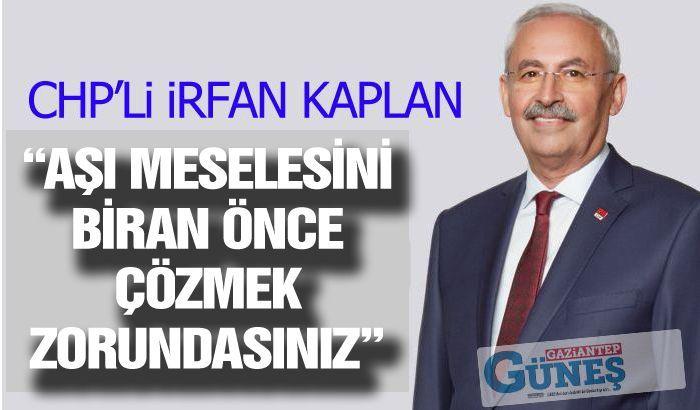 """""""AŞI MESELESİNİ BİRAN ÖNCE ÇÖZMEK ZORUNDASINIZ"""""""