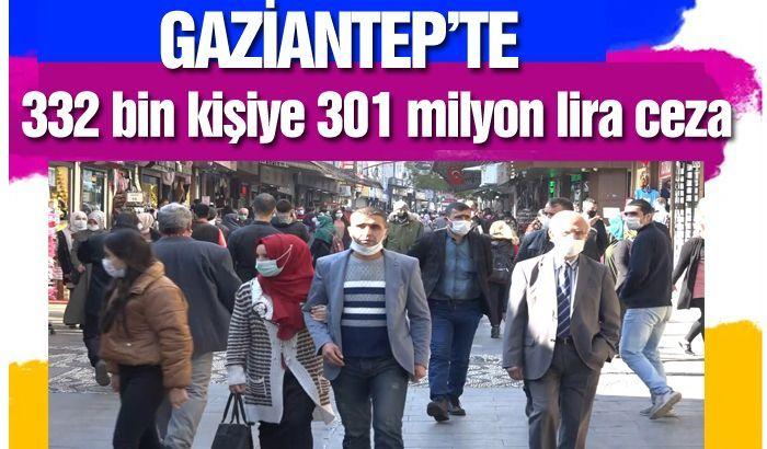 332 bin kişiye 301 milyon lira ceza