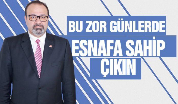 BU ZOR GÜNLERDE ESNAFA SAHİP ÇIKIN