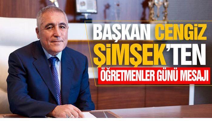 """Gaziantep OSB Başkanı Cengiz Şimşek:  """"Kalkınmanın yolu eğitimden geçiyor"""""""