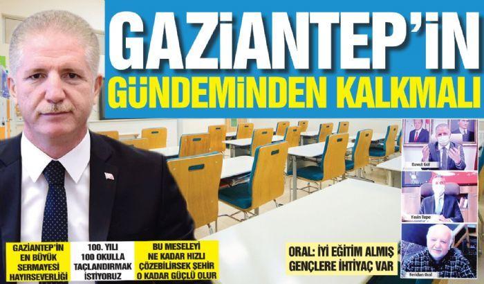 Gaziantep'in gündeminden kalkmalı