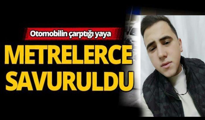 Gaziantep'te otomobilin çarptığı genç hayatını kaybetti.