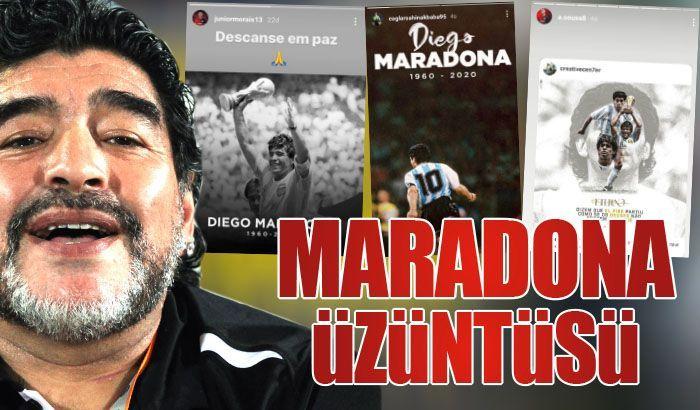 Maradona üzüntüsü