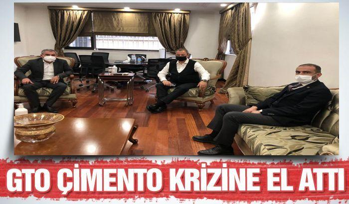 GTO ÇİMENTO KRİZİNE EL ATTI..