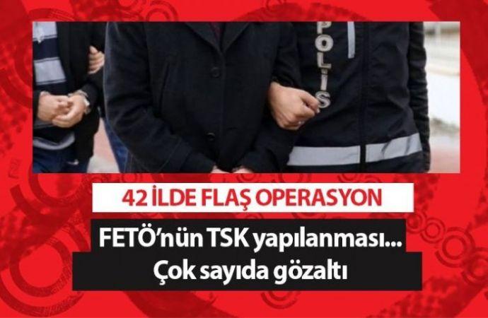 42 ilde FETÖ'ye dev operasyon! 294 gözaltı kararı