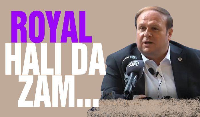 ROYAL HALI DA ÇALIŞANLARA ZAM...