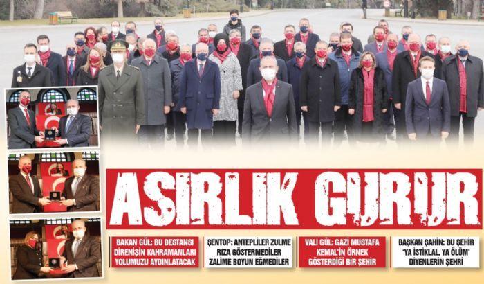ASIRLIK GURUR
