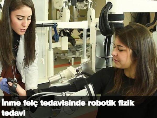 İnme felç tedavisinde robotik fizik tedavi