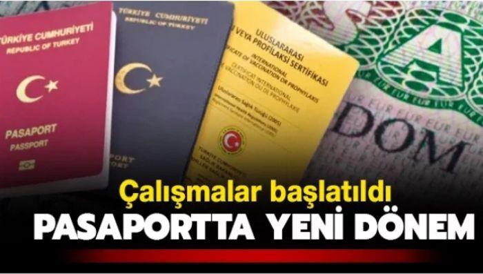 Pasaportu olan vatandaşları yakından ilgilendiren haber... Yeni dönem başlıyor...