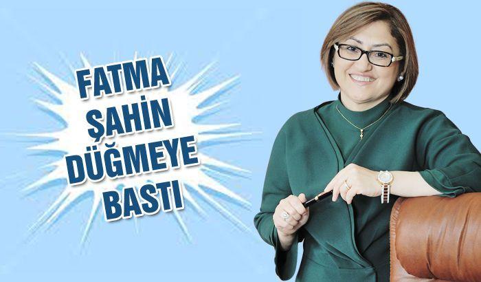 Fatma Şahin düğmeye bastı