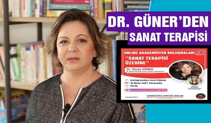 """Dr. Güner, """"Sanat Terapisi""""ni anlatacak"""