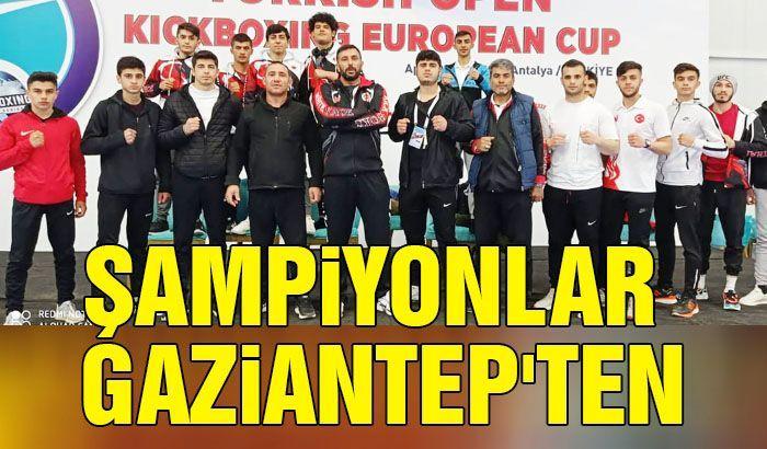 Şampiyonlar Gaziantep'ten