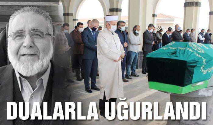 Koronadan ölen Rektör Mustafa Müslim son yolculuğuna uğurlandı
