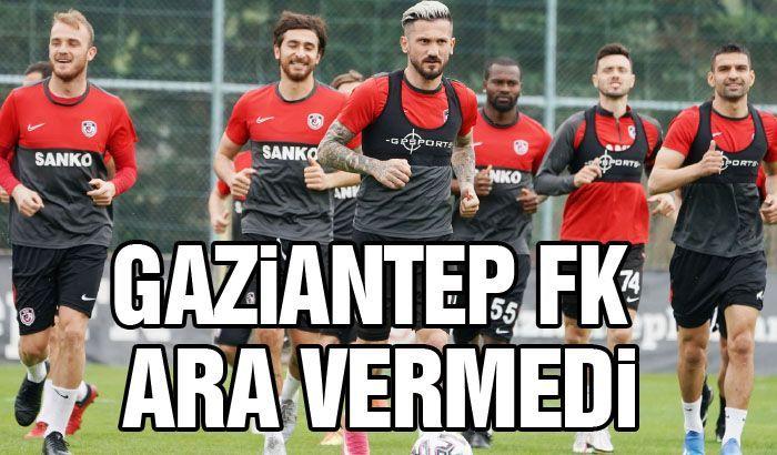 Gaziantep FK ara vermedi