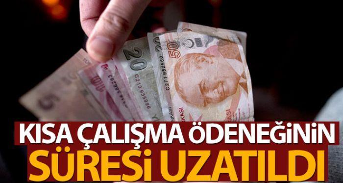 Cumhurbaşkanı Erdoğan'dan kısa çalışma ödeneği açıklaması....