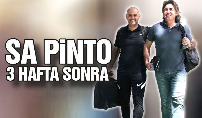 Sa Pinto 3 hafta sonra