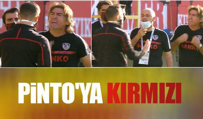 Pinto'ya kırmızı