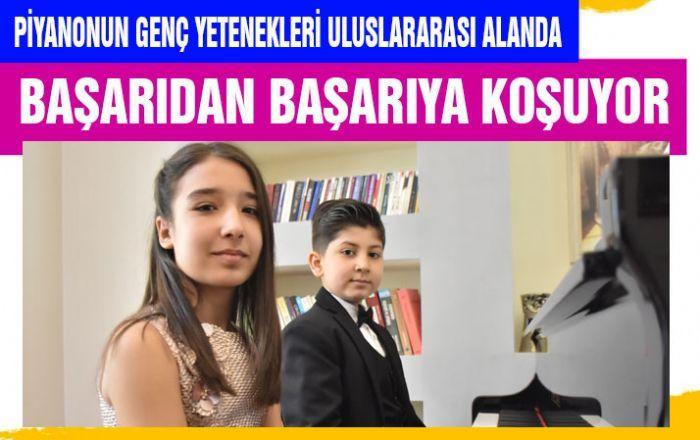 Piyanonun genç yetenekleri uluslararası alanda başarıdan başarıya koşuyor