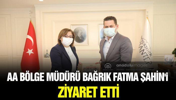 AA Bölge Müdürü Bağrık Fatma Şahin'i Ziyaret Etti