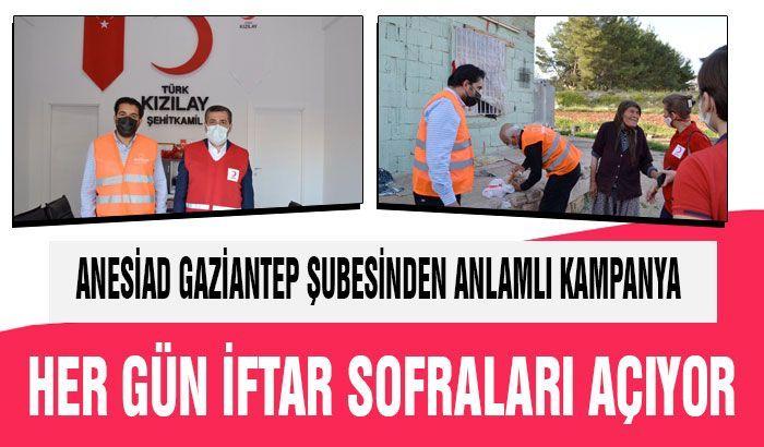 ANESİAD Gaziantep Şubesinden anlamlı kampanya
