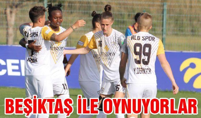Beşiktaş ile oynuyorlar
