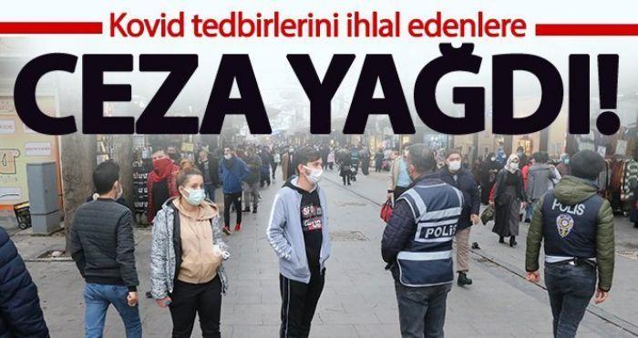 Gaziantep'te Kovid-19 tedbirlerini ihlal eden 352 kişiye para cezası kesildi