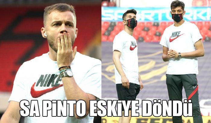 Sa Pinto eskiye döndü