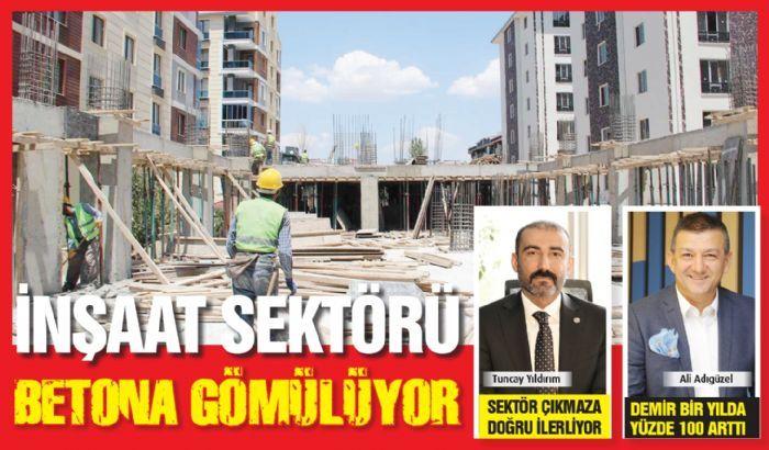 İnşaat sektörü  betona gömülüyor.