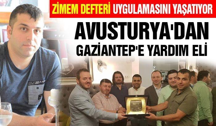 Avusturya'dan Gaziantep'e yardım eli