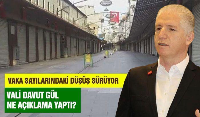 Gaziantep'te vaka sayılarındaki düşüş sürüyor